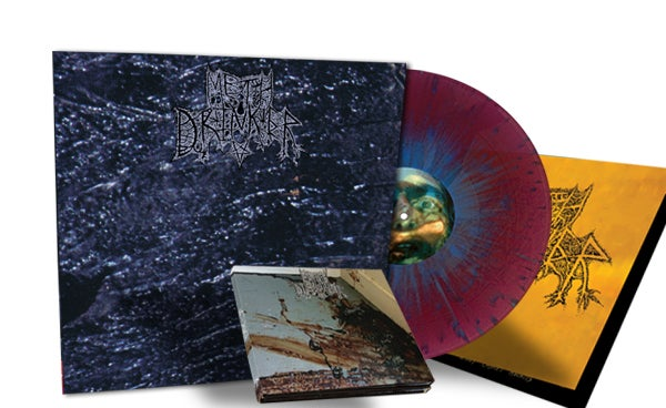 Image of METH DRINKER - 2xCD Digipak + Collector's LP BUNDLE [PRE-ORDER]