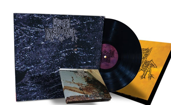 Image of METH DRINKER - 2xCD Digipak + Black LP BUNDLE [PRE-ORDER]