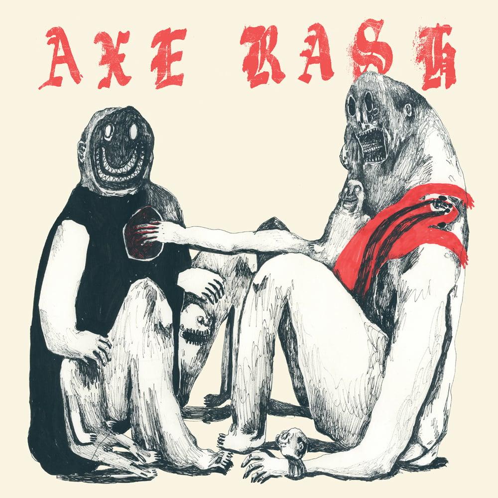 "Image of AXE RASH ""s/t"" 12"""