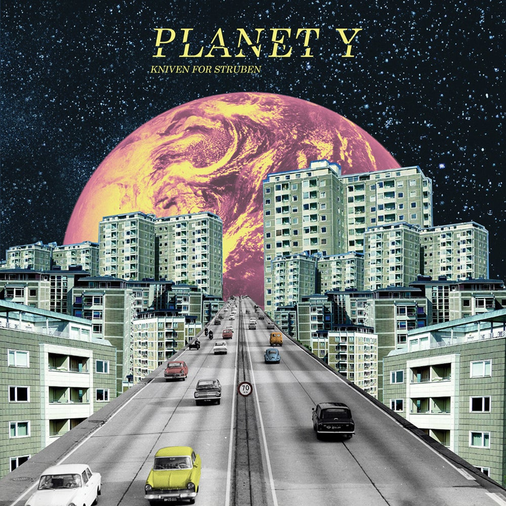 "Image of PLANET Y ""KNIVEN FOR STRUBEN"" 12"""