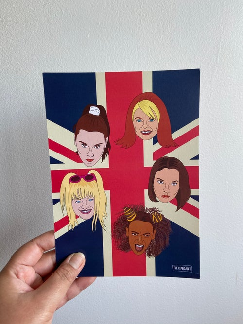 Image of SPICE GIRLS - PRINT