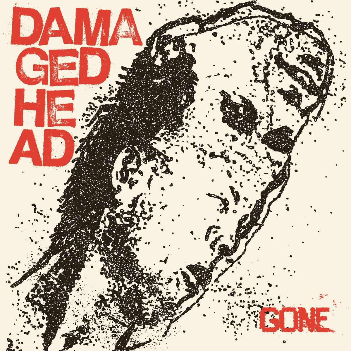 "Image of DAMAGED HEAD ""GONE"" 7"" E.P."