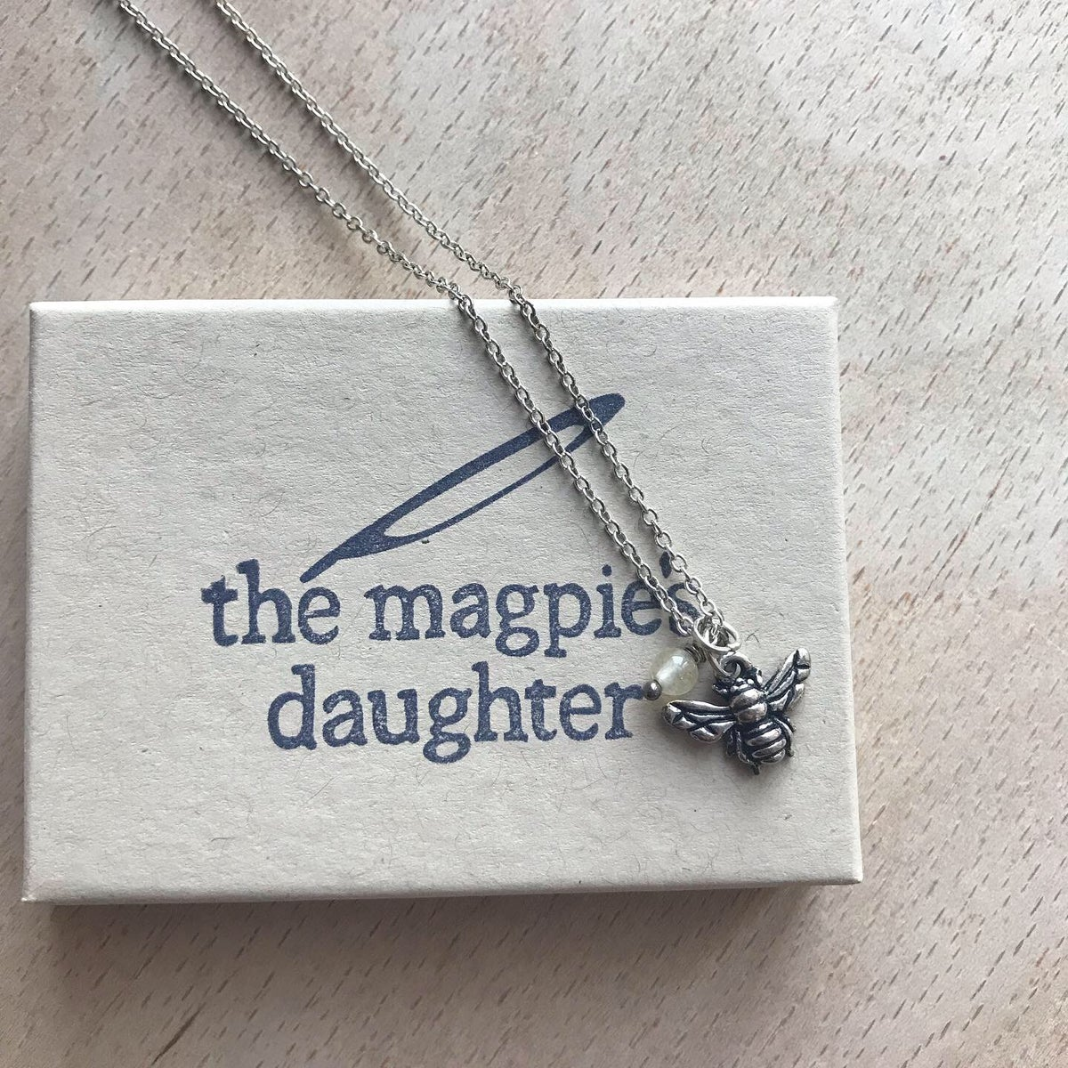 Image of Bee Charm necklace by The Magpie's Daughter
