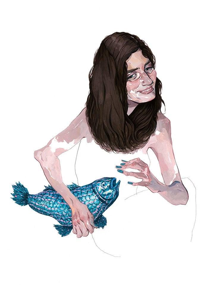 Image of Blue Fish