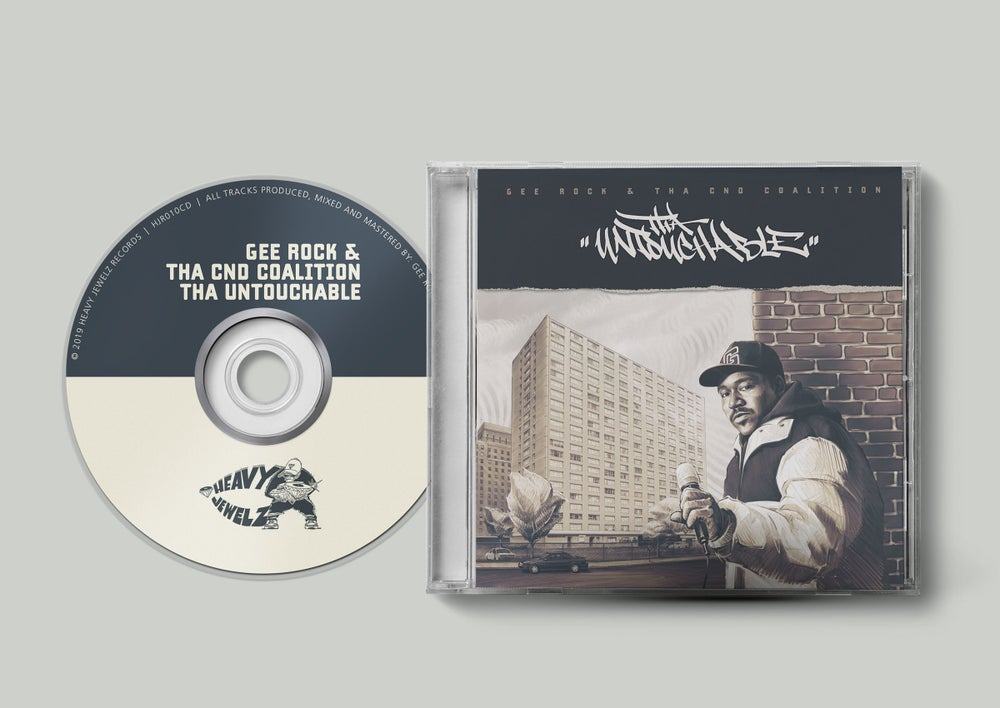 Image of Gee Rock & Tha CND Coalition - Tha Untouchable CD