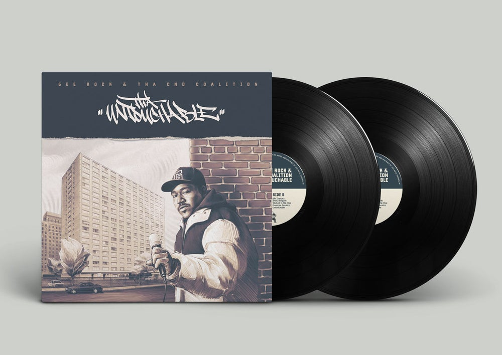 Image of Gee Rock & Tha CND Coalition - The Untouchable 2LP