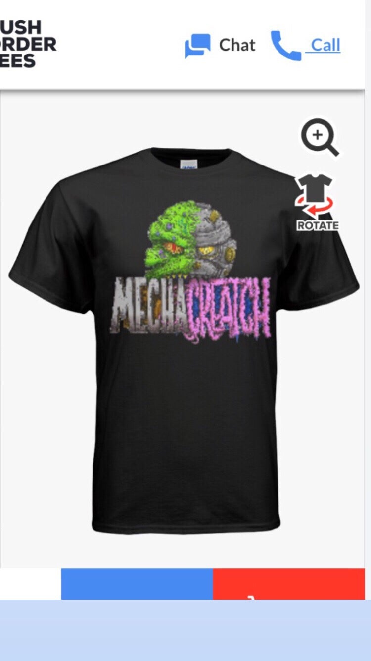 Image of Mechacreatch Shirt (Small,Medium,Large,XLarge & XXLarge availableI)
