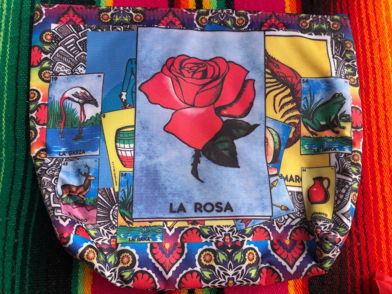 La rosa make up bag