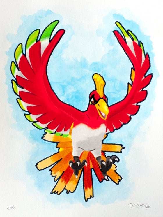 Image of Ho Oh #250