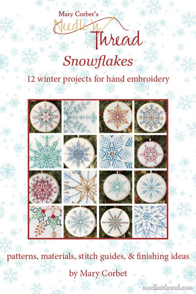 Image of Snowflakes: 12 Winter Projects for Hand Embroidery