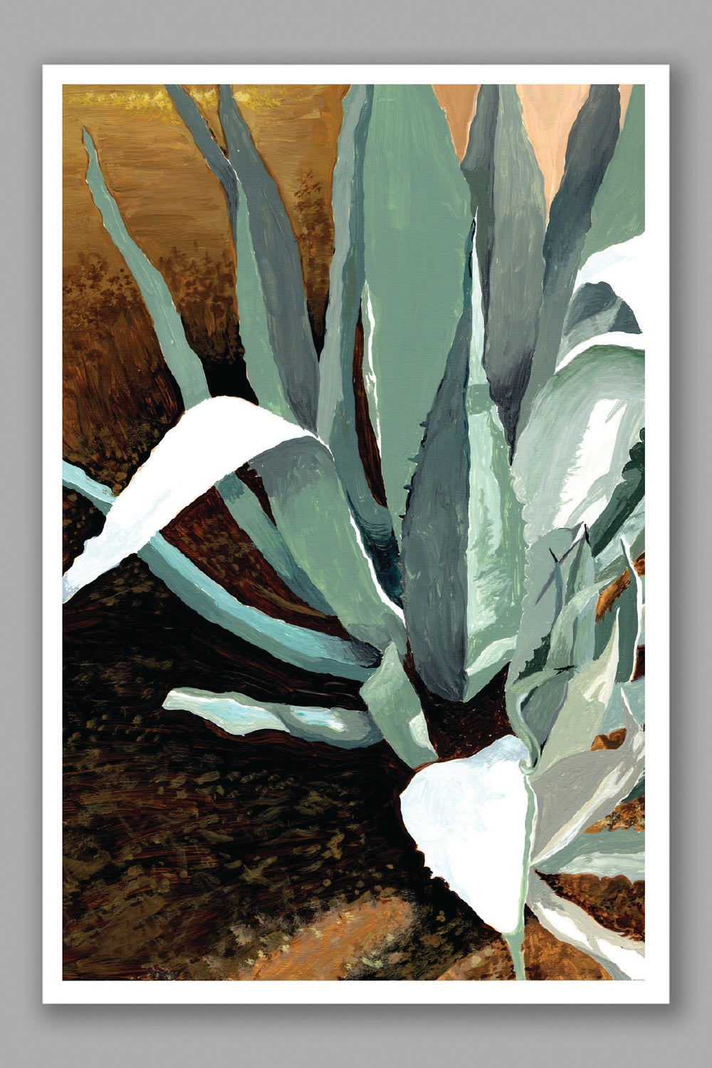 Image of Snow in Tucson card