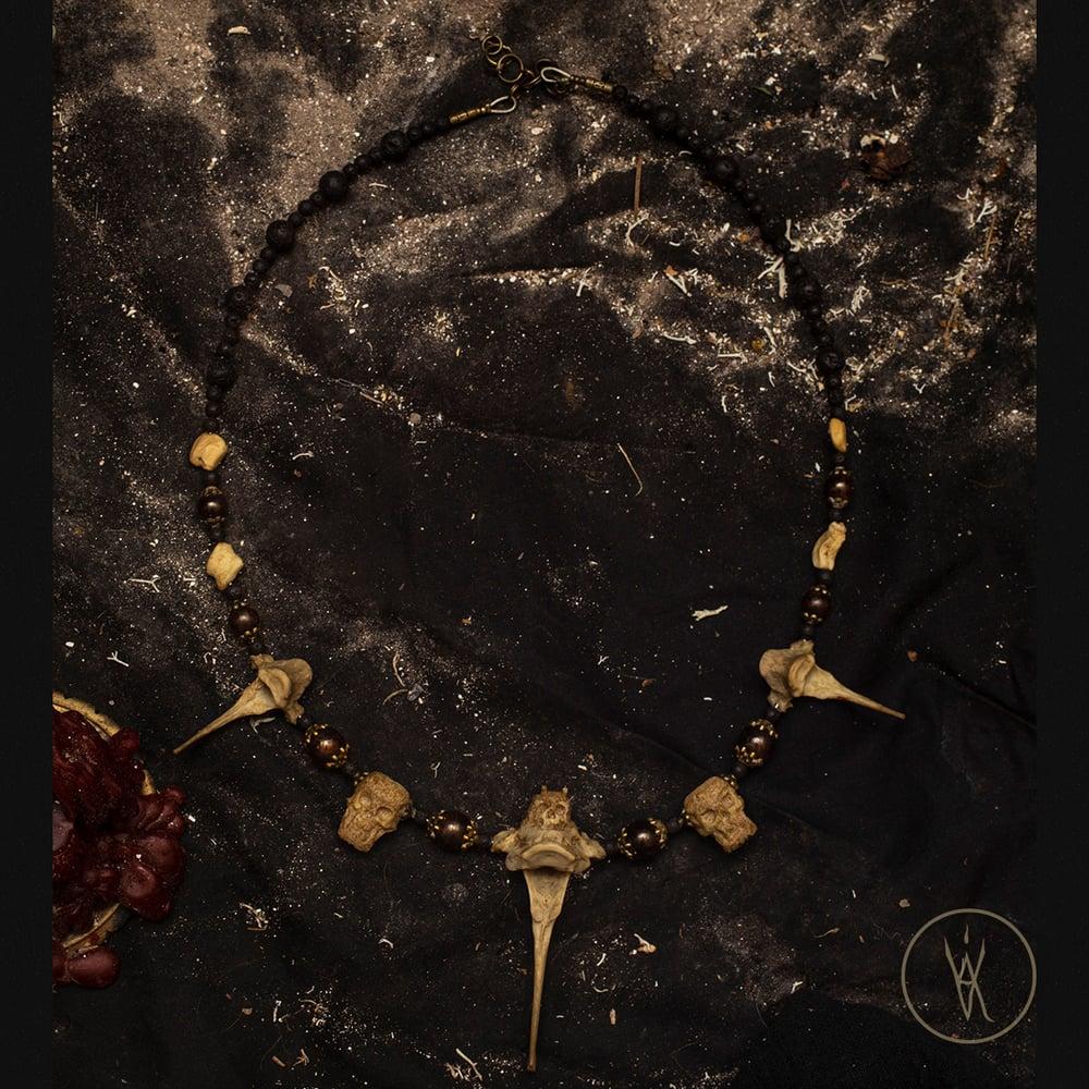 Image of ⋮ Putrid Spirits ⋮ Bone Necklace