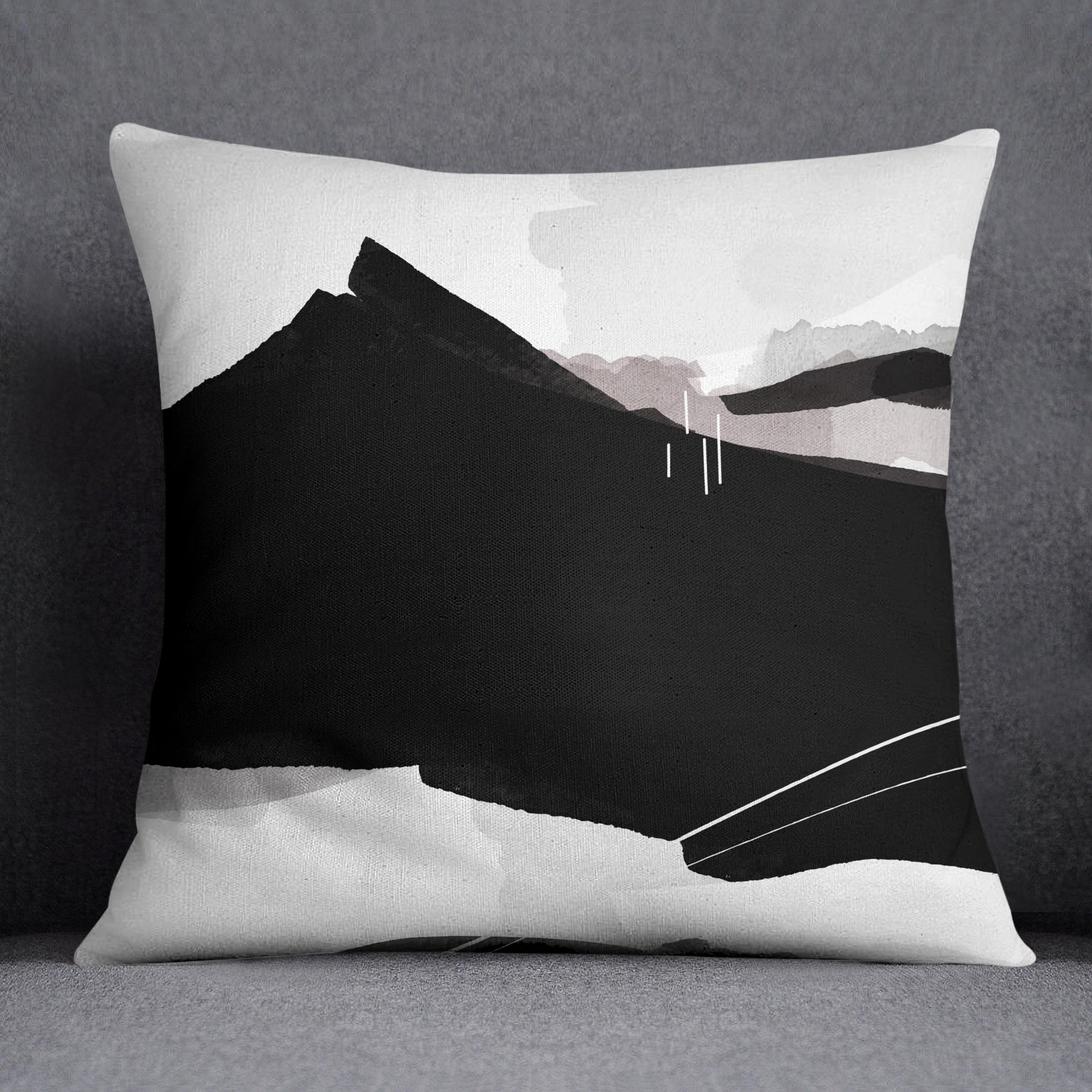 Image of Cascadia Square Throw Pillow