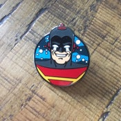 Image of Captain Cosmic Limited Edtion Enamel Pin Badge