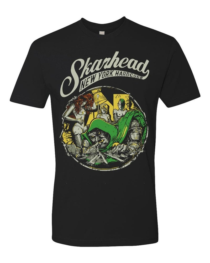 Image of SKARHEAD DOOM T SHIRT (IN STOCK)