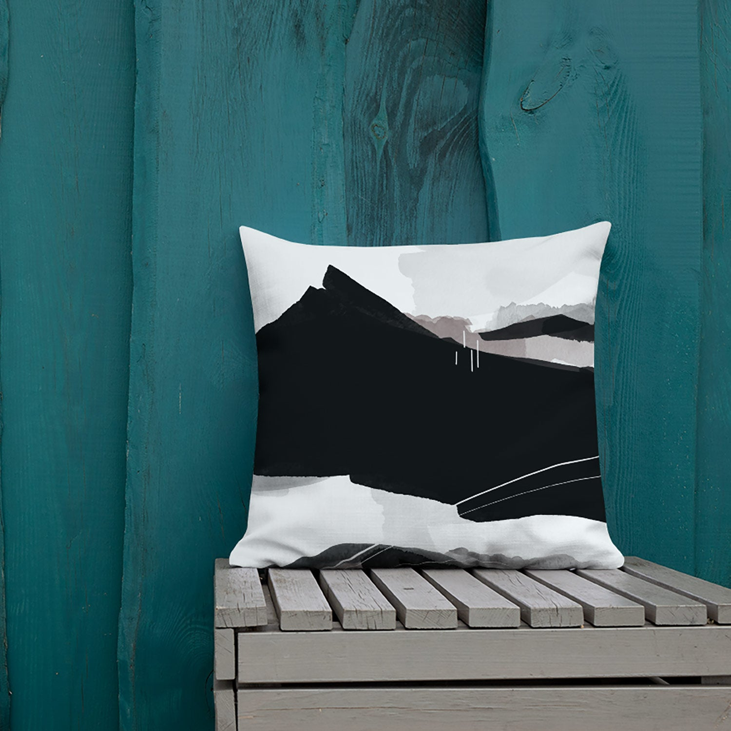 Image of Cascadia Throw Pillow