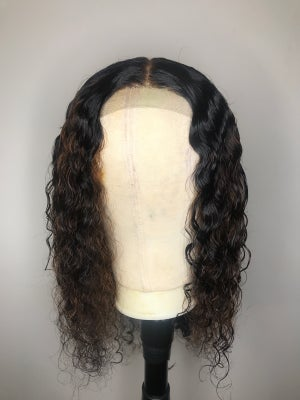 Image of Lace closure w highlights