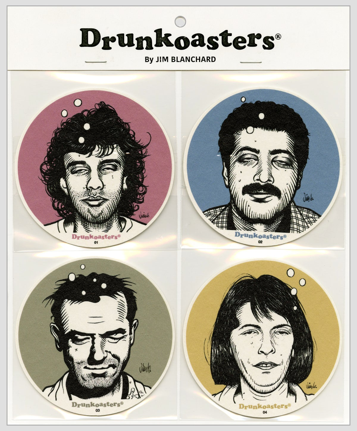 Image of DRUNKOASTERS coaster set