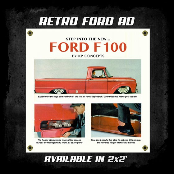 Image of Retro Ford Ad Banner