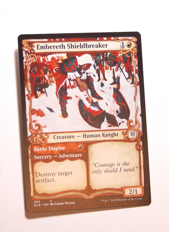 Image of Embereth Shieldbreaker - ARTIST PROOF - Regular