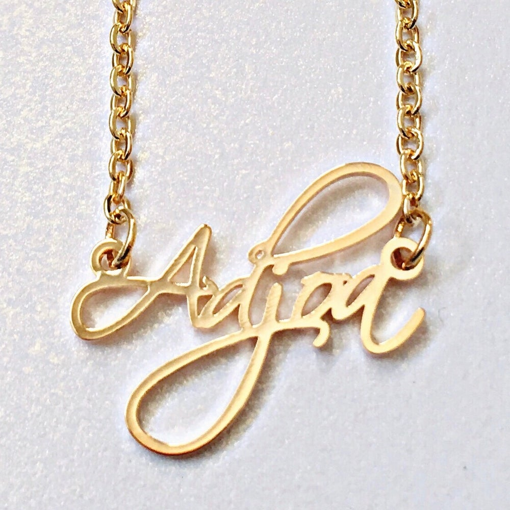Image of ZEAL WEAR YOUR DAY NECKLACE - ADJOA (MONDAY)