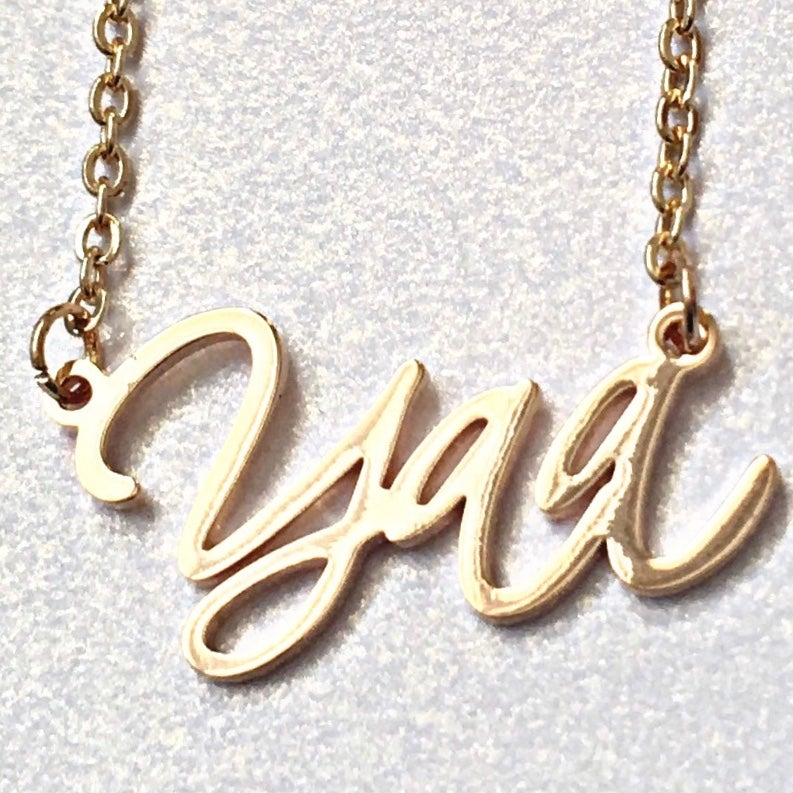 Image of ZEAL WEAR YOUR DAY NECKLACE - YAA (THURSDAY)