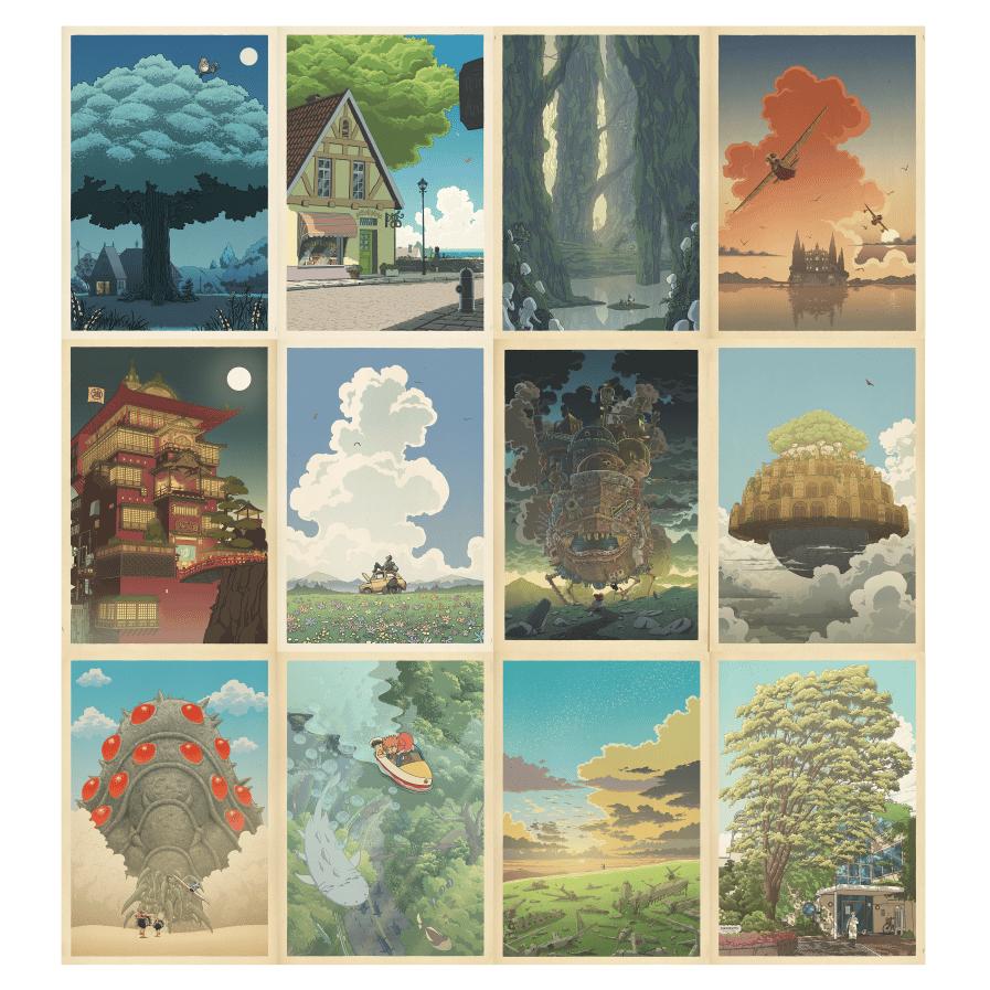 Image of Miyazaki/Hasui compilation (square)