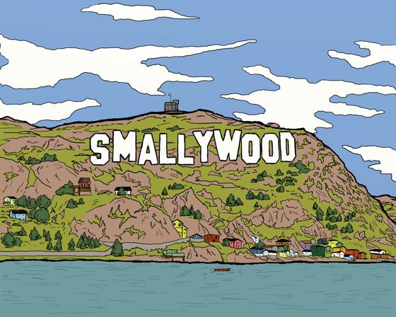 Image of Smallywood Hills Print