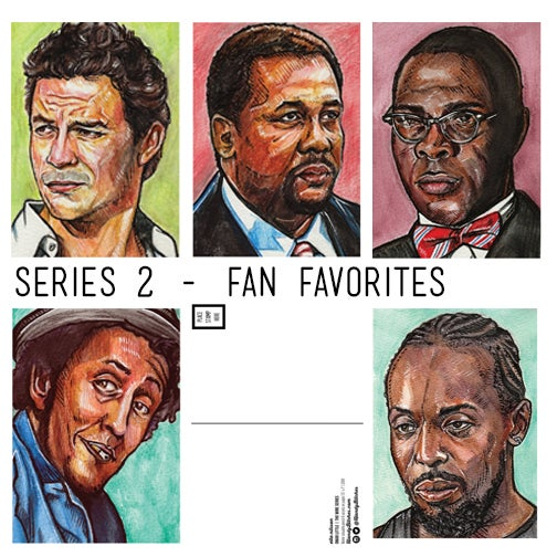 Image of Wire Series 2 - Fan Favorites - Limited Edition Art Cards
