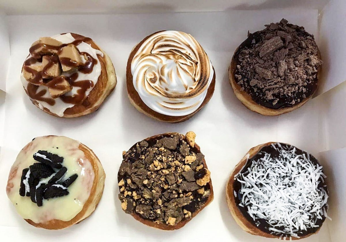 Image of 6 pack Specialty Doughnuts