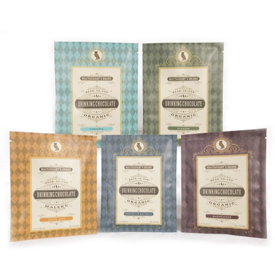 Image of Drinking Chocolate - Single Origin Sampler