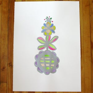 Image of Flower Tower      (hand colored)