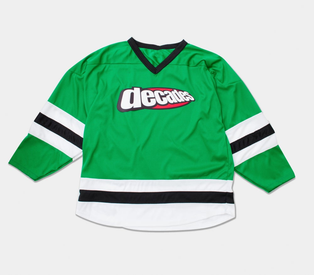 Image of Oval Logo Hockey Jersey