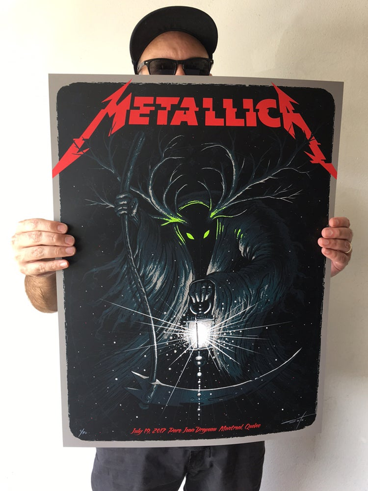 Image of Metallica Montreal Posters