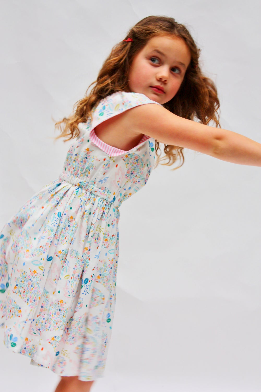 Image of Tilly Dress in Paradise (Big girls)