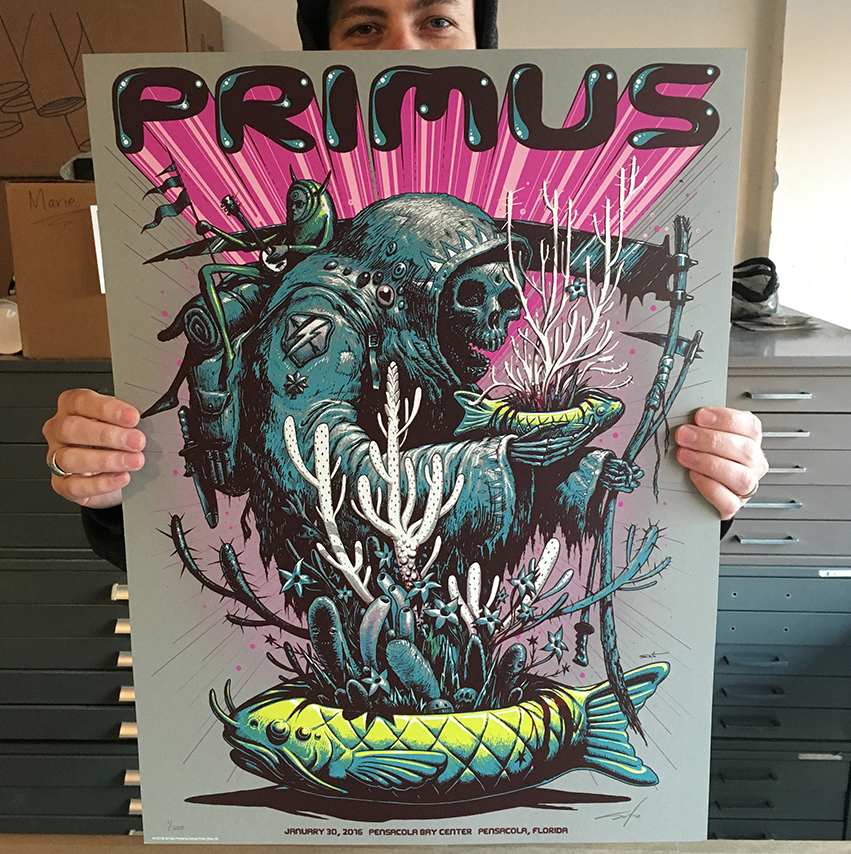 Image of Archive Sale - Primus Pensocola Posters