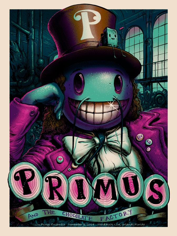 Image of Archive Sale - Primus Orlando Variant Poster