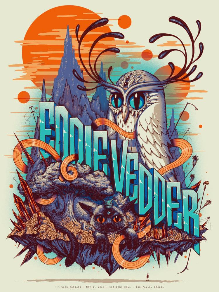 Image of Archive Sale - Eddie Vedder Sao Paulo Poster
