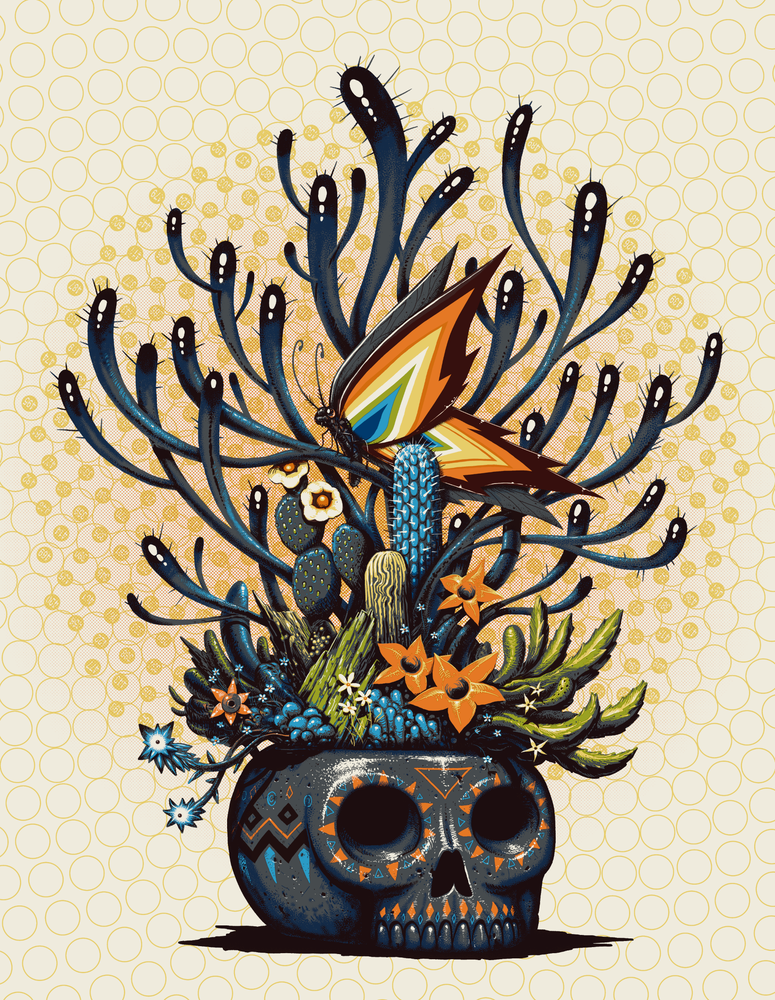 Image of Archive Sale - Skull of Life Prints