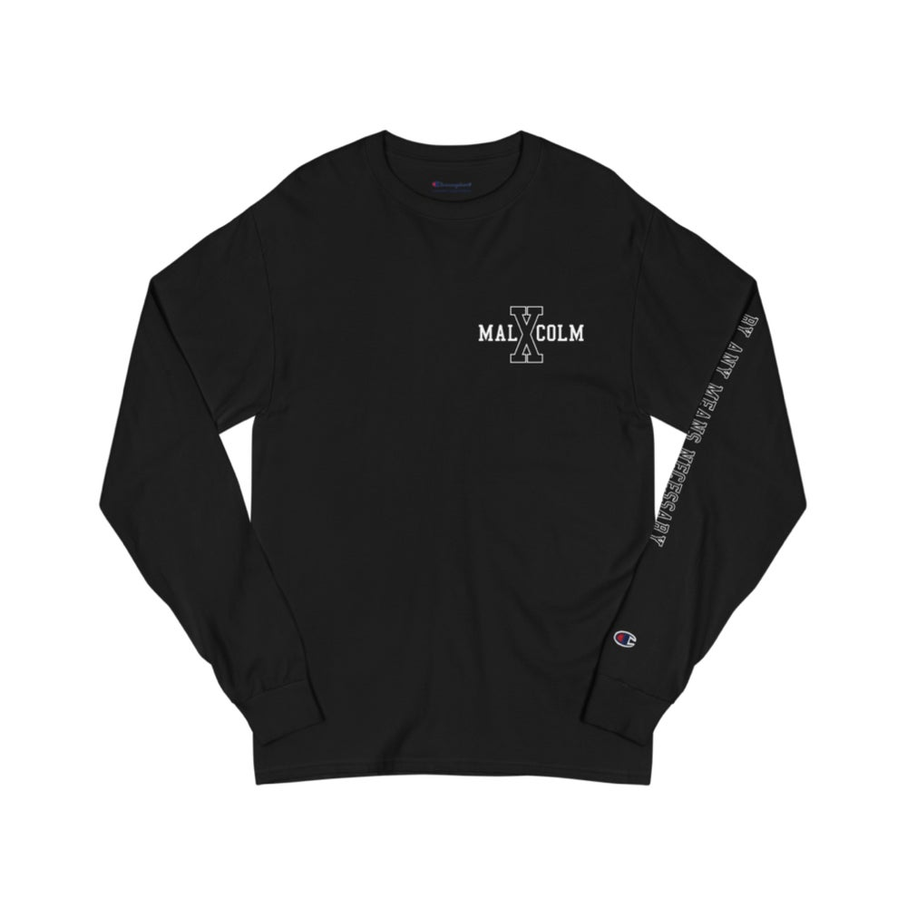 Image of BAMN Long sleeve black