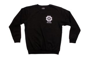 "Image of ""Roots & Culture"" Crew Neck Sweater (Black)"