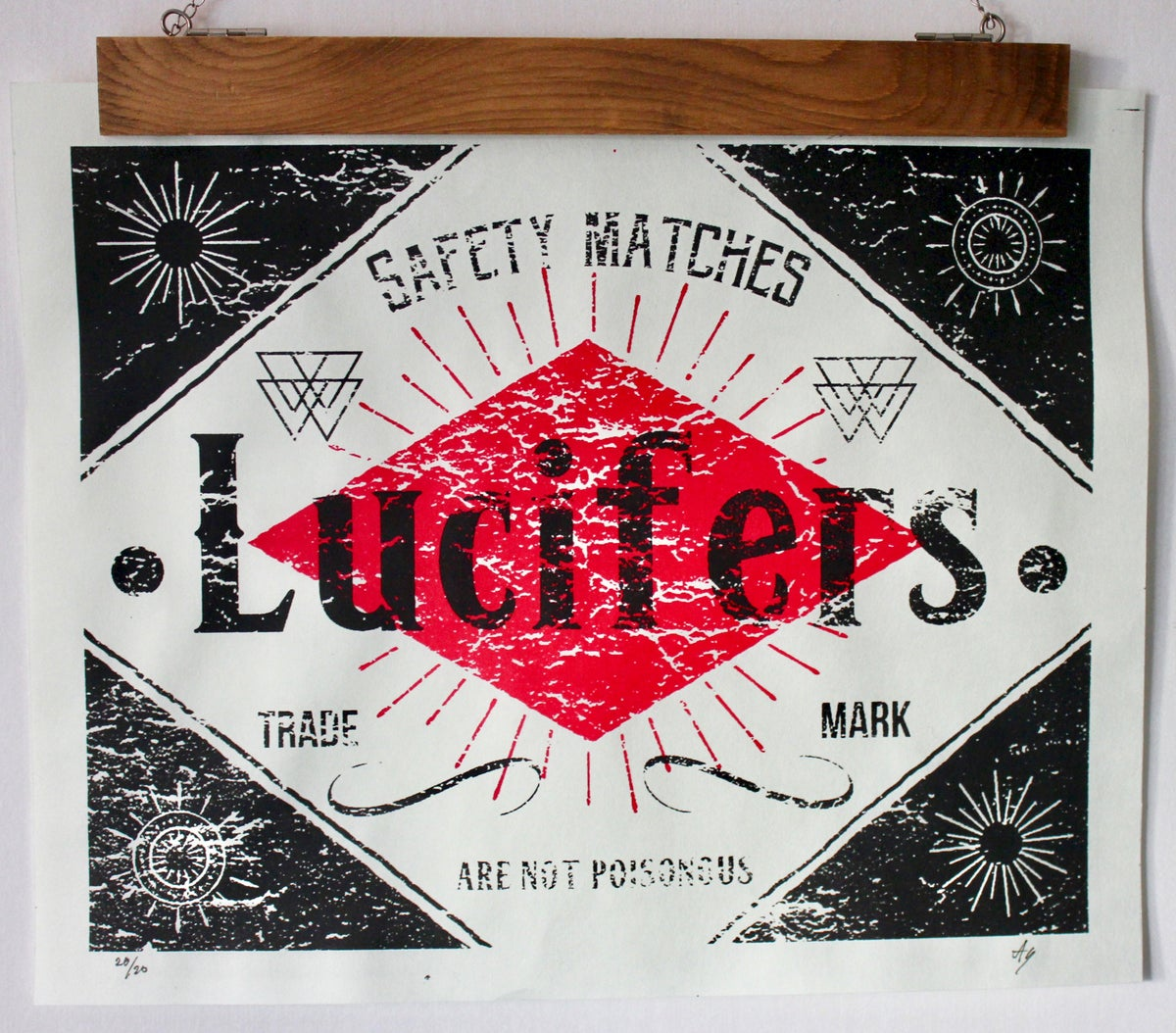 Image of Lucifers Safety Matches - Few left
