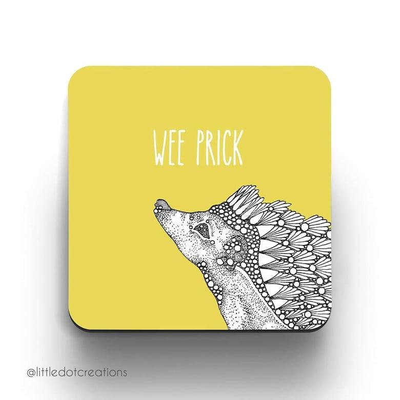Image of Wee Prick Coaster