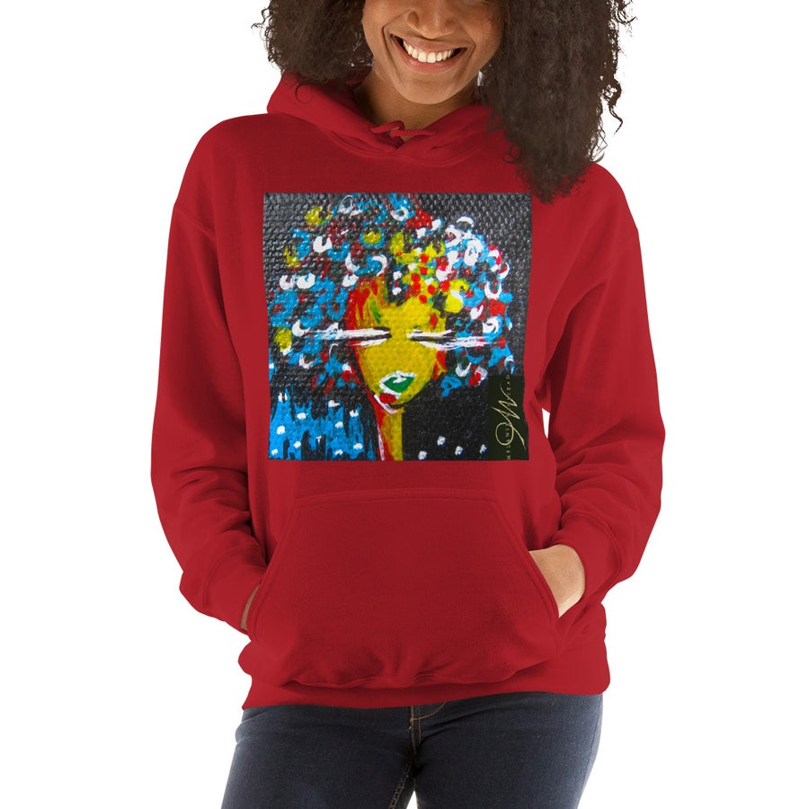 """Image of """"Big Hair, Don't Care"""" Hoodie"""