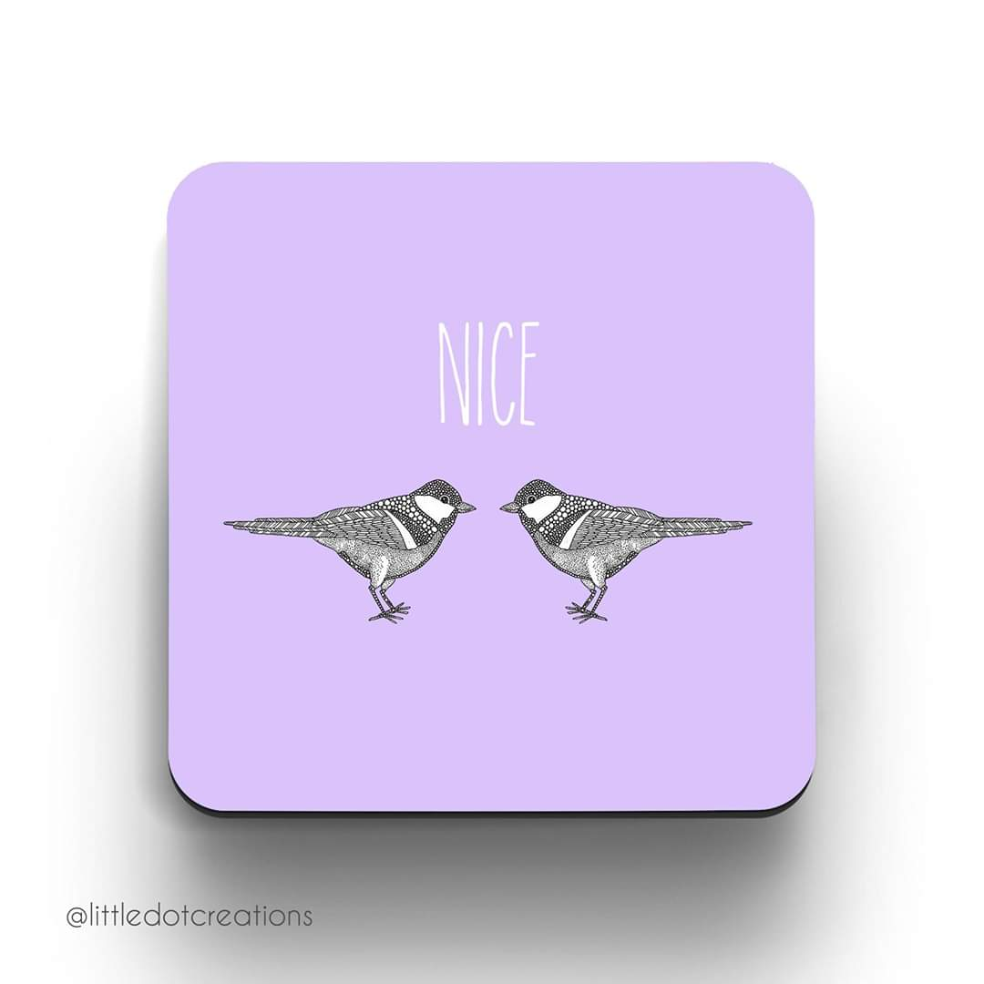 Image of Nice Tits Coaster