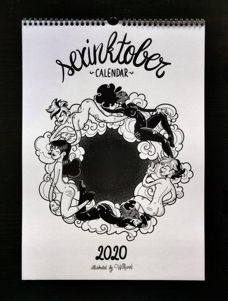 Image of Sexinktober Calendar 2020