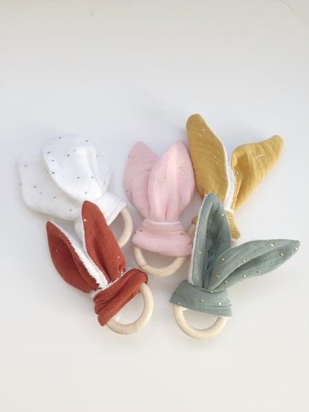 Image of Anneau lapin - 5 coloris