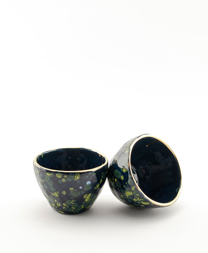 Image of Galaxy Glaze Set of Cups