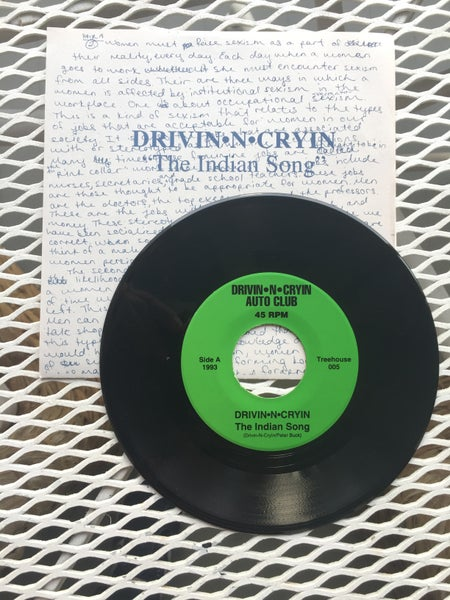 "Image of The Indian Song/ If I'm Not There   45rpm 7"" Auto club 1993"