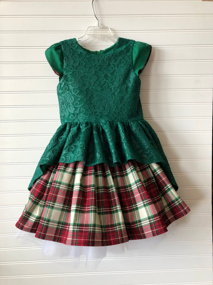 Image of Noelle Christmas Dress   (limited supply of fabric)